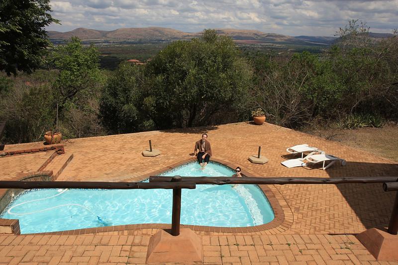 Balcony with a view, Brent & Roxy's wedding, Jaguar Lodge