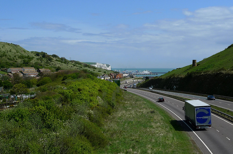 Approaching Dover
