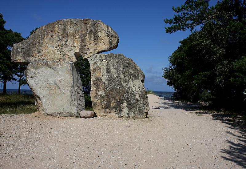 Kolka, monument to drowned sailors