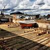 18th c drydock, Suomenlinna island