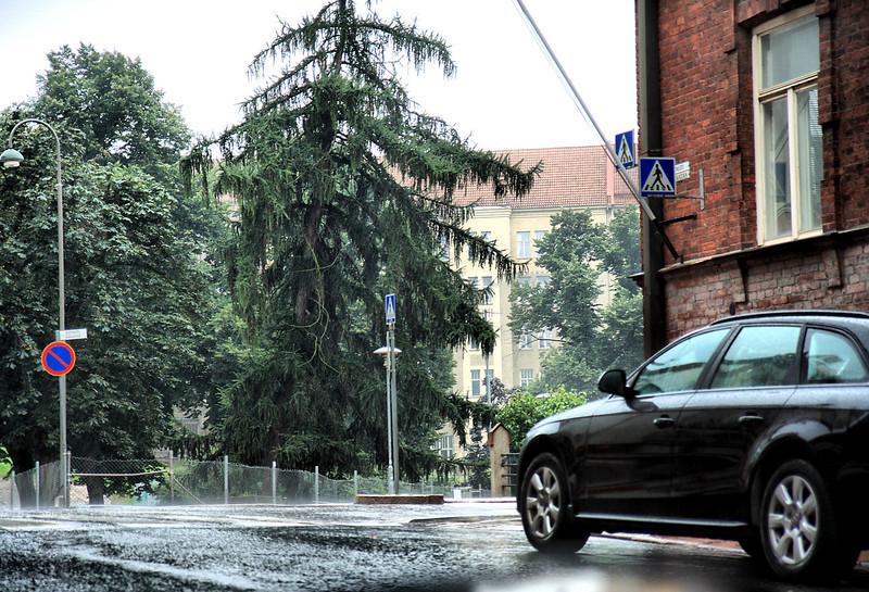 Wet Sunday morning in Helsinki