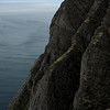 Nordkapp point, the 307m cliff claimed to be the Northernmost point in Europe
