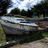 Boat graveyard, Barre De Etel