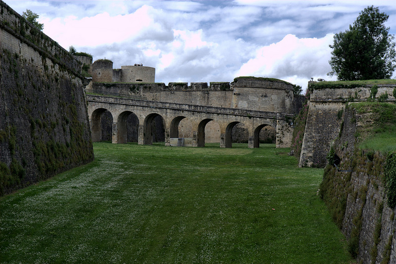 Citadel de Blaye, view to the right