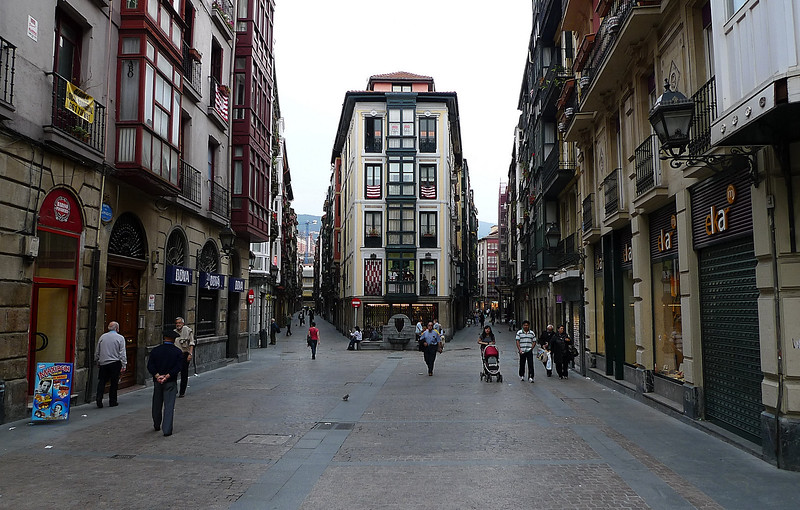 The old town, Bilbao