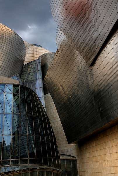 Gugenheim  gallery, Bilbao