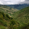 Leaving the Picos Europa mountains
