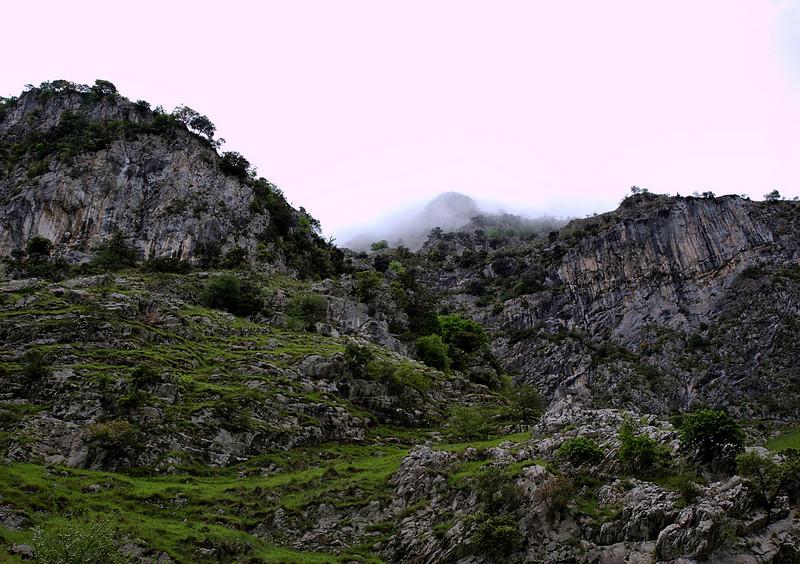 Gorge, entering the Picos Europa mountains