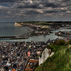 Le Treport, from the clifftop