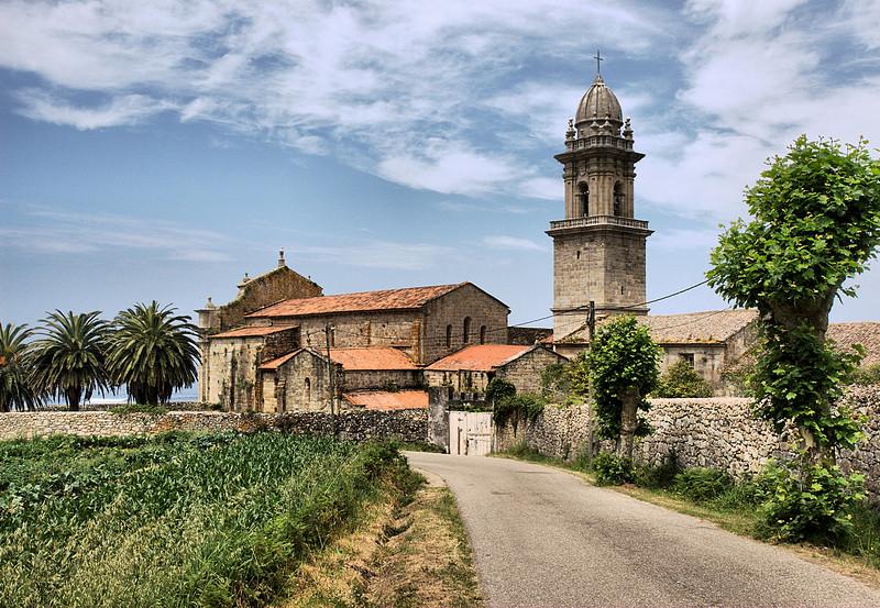 Monastery De Oia, Spain