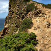The path down, from a third of the way down. Cabo De Roca