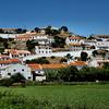 Random hillside town