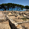 Greek and Roman ruined city at Empuries