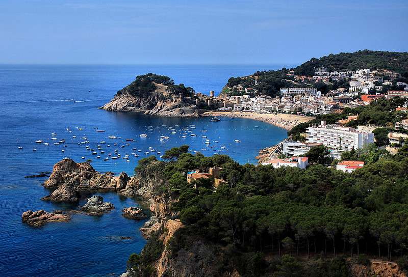 Overlooking Tossa De Mar