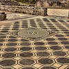 2,000 year old mosaic floor at Empuries