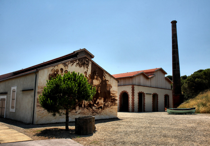 Paulilles, renovated 19thc  dynamite factory