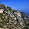 The Moyenne Corniche road to Monaco