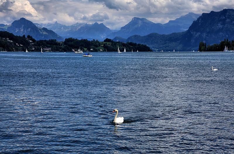 Near Luzerne