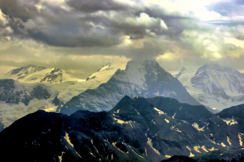 The Eiger (in a cloud)