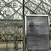The Louvre. Outside it obviously, cos it's shut.