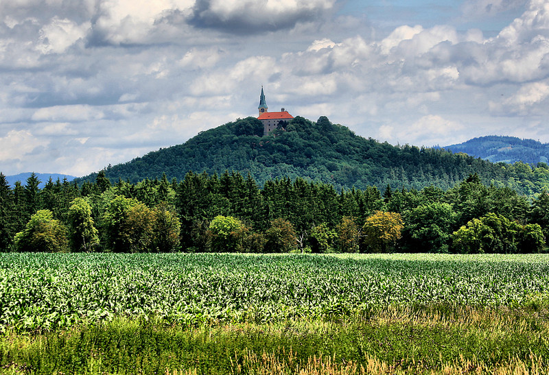 Somewhere in Germany, near the Czech border