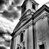 A church at Dobris