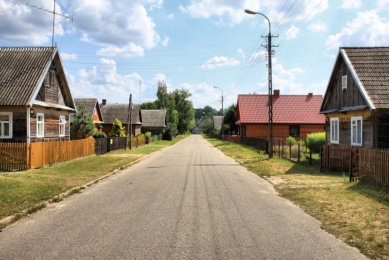 Bialowieza village
