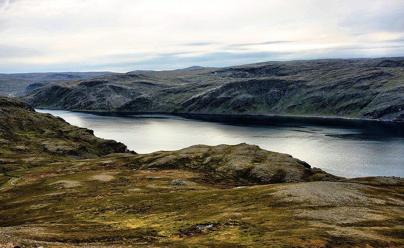 D118. The road to Nordkapp point, Norway