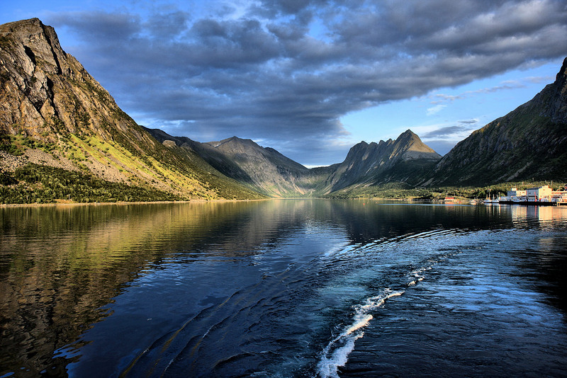 D123. Gryllefjord, Norway