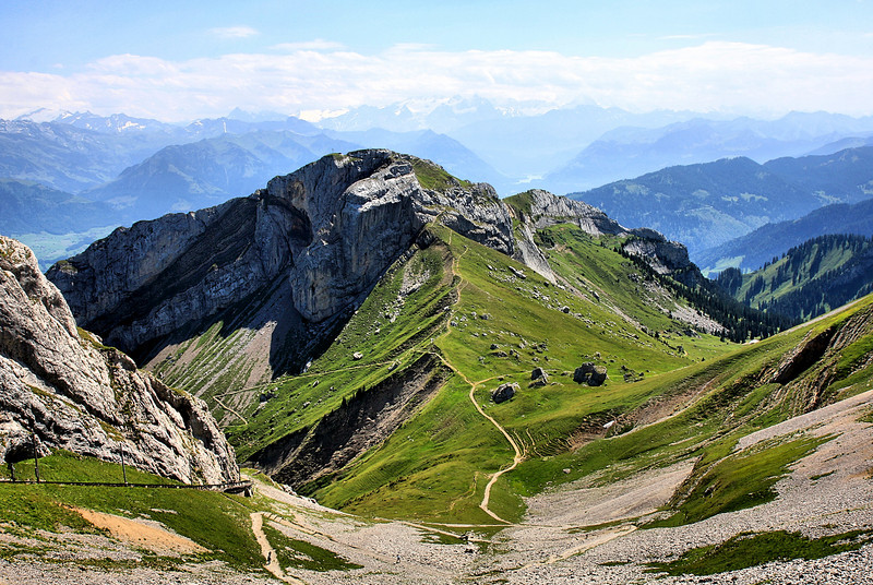 D77. Mount Pilatus, Switzerland