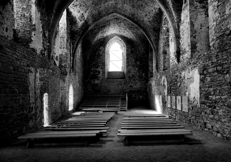 D105. Padise Monastery, Estonia