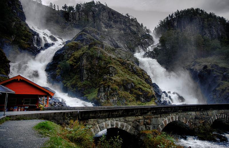 D136. Vidfossen, Norway