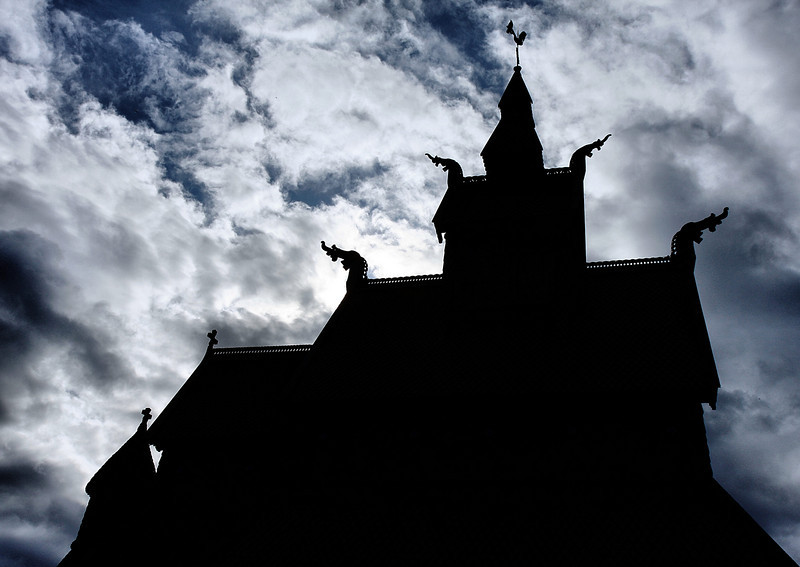 D136. Hopperstad stave church, Norway