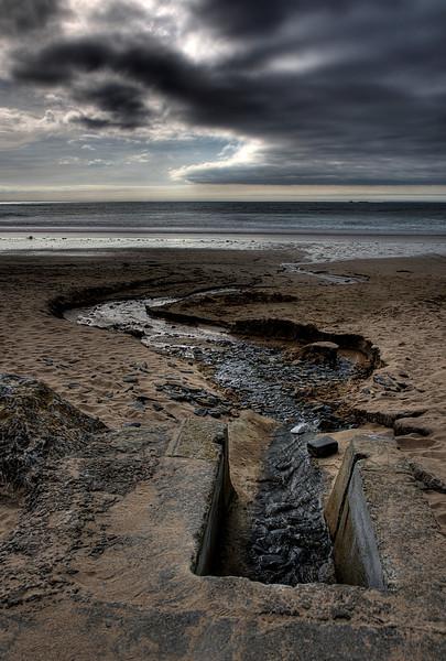 D10. A beach, France