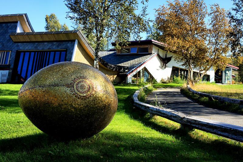 D117. Juhle's Silver gallery, Kautokeino, Norway