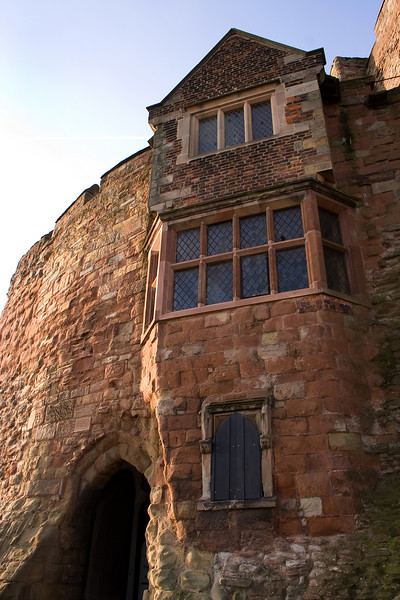 Tamworth Castle<br /> Main entrance