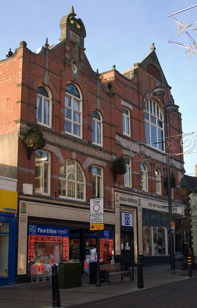Cooperative Building,<br /> corner off Colehill, Lower Gungate and Church St.