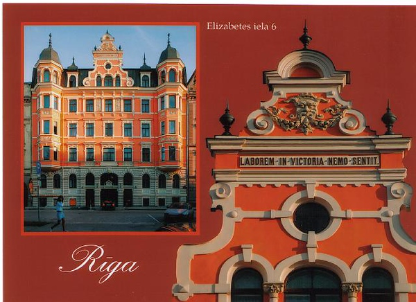14_Riga_Eclectism_Stylized_Renaissance_Pediment_1901