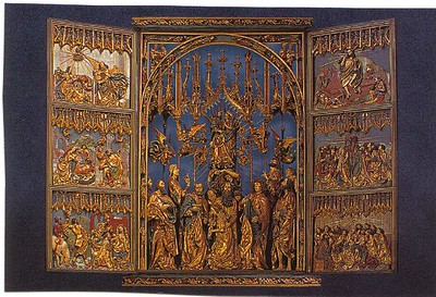 12_Cracovie_Eglise_Sainte_Marie_Retable