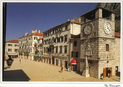 15_Kotor_Arms_Square_with_the_Clock_Tower_from_1602