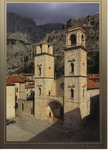 22_Kotor_St_Tryphon_Cathedral_1166_Baroque_front_1667