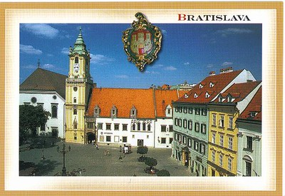 15_Bratislava_The_Old_Town_Hall_with_the_city_escutcheon