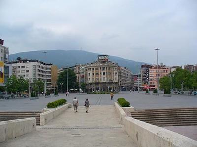 011_Skopje_Plostad_Makedonija_Main_Square