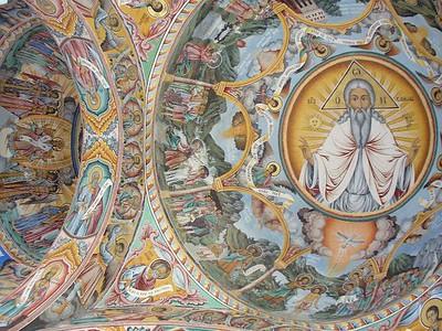 036_Rila_Monastery_Nativity_Church_Frescoes