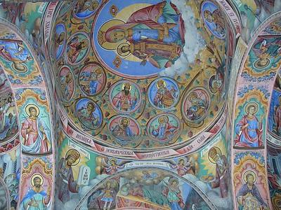 034_Rila_Monastery_Nativity_Church_Frescoes