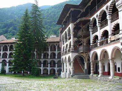 026_Rila_Monastery_Large_misshapen_Courtyard