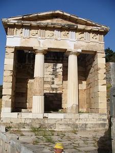 011_Delphi_The_Athenian_Treasury_5th _Century_BC