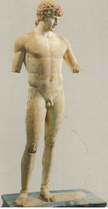 024_Delphi_The_Statue_of_Antinoos
