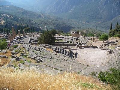 019_Delphi_The_Theater_and_The_Temple_of_Apollo