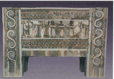 325_AM_Stone_sarcophagus_decorated_fresco_1400_BC